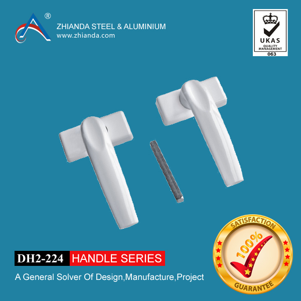 New product aluminum single side door handle windows