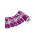 Custom Production Resealable Household Packaging Rool Film