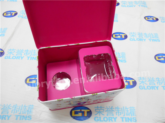 skin care product, cosmetic packaging tin box
