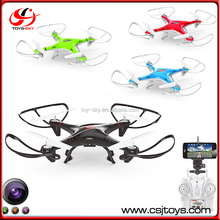 2015 2.4G Remote and Smartphone Control RC Quadcopter Wifi FPV Drone Professional With HD Camera