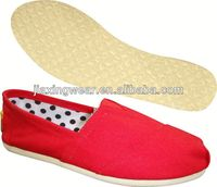 Popular Injection women flat shoes 2014 for outdoor and promotion,light and comforatable