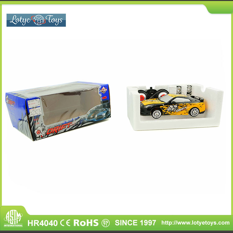 Super racing king 1:24 scale 27mhz rc drift car manufacturer china
