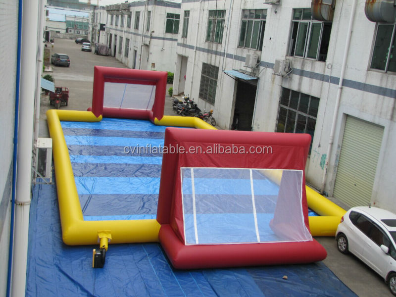 PVC inflatable football game for adult inflatable dolls