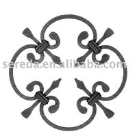Forging and casting works sereda code 2206 Wrought Iron Rosette
