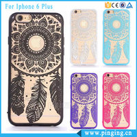 Dreamcatcher Hollow Pattern Phone Case For Iphone 6 Plus Case 2016, Hard Back Phone Case Packing For Iphone 6s Plus