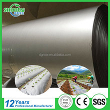 Strech ground protection mat mulching film recycle row material biodegradable mulch film for agricultural