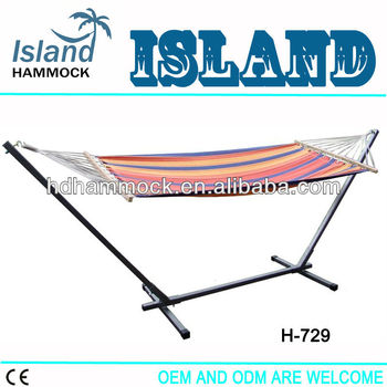 hammock and square tube hammock stand