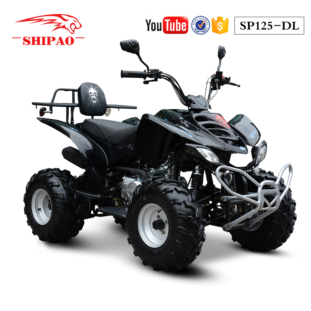 SP125-DL Shipao the power of speed quad bike on road