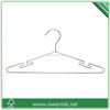 Wholesale supermarket laundry metal wire hangers for clothes