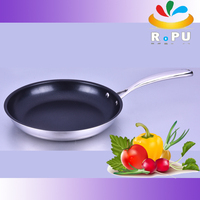 New products 2016 houseware kitchen ware hot pots stainless steel pan