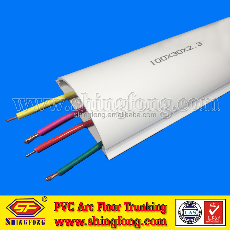 PVC Arc Floor Cable Channel