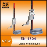 Precision electronic digital height gage with large screen