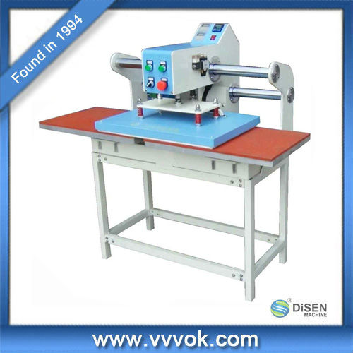 Aotomatic pneumatic double heat transfer machine