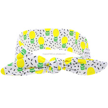 HAOXIE Fashion Fruits patten girl headband for wholesale/hair elastic band/Girls' Hair Decoration