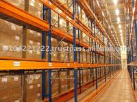 Very Narrow Aisle Pallet Racking System