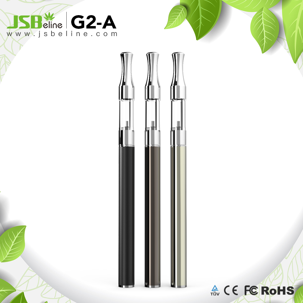 2017 CBD Oil G2-A battery buttonless vape pen battery for thc cbd oil vape from factory