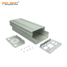 customized electrical panel box anodized aluminum case extrusion enclosure