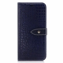 PU Leather Crocodile Pattern Cover Phone Case For Samsung Galaxy S8 Mobile Phone Case Manufacturer