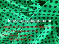 Nice quality printed polyester tricot fabric