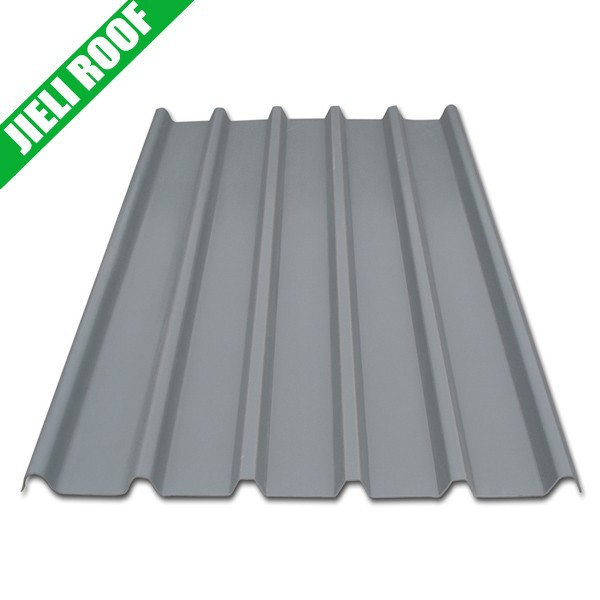 three layers light weight colored UPVC roof tile/roof shingle/roof sheet