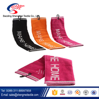 Low price trade assurance gym towel with zip pocket
