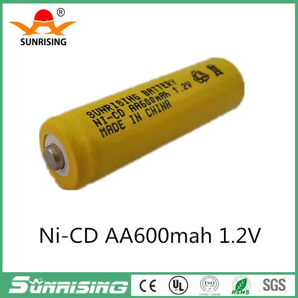 500 Times Rechargeable AA Battery 600mAh 1.2V Ni-CD 2A Neutral Battery for RC Controller Toys Electronic Etc