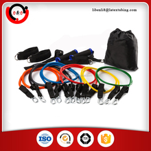 Bodylastics 11 Pcs Snap Guard Resistance Bands Set With 5 Stackable Anti-snap