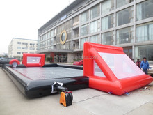 adult inflatable sports arena inflatable soap soccer field inflatable football pitch