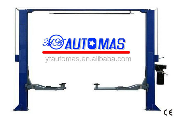 MAS-2-40C/Launch two post lift 4 ton hydraulic vehicle lift hydraulic oil car lift for sale
