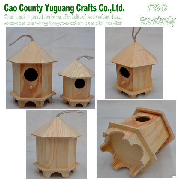 pine wooden bird house,pet nest,pet bird house