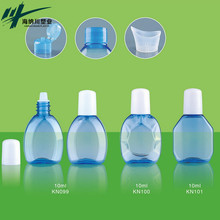 10ml pet sterile LDPE plastic eye drops packaging dropper bottles with screw cap