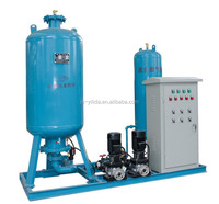 Constant pressure water refilling station vacuum degassing plant
