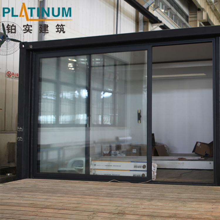 Standard Heat Insulation And Fire Rating Aluminium Sliding Doors