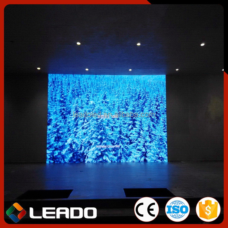 China factory price First Grade pitch 2.5 led tv display for live show