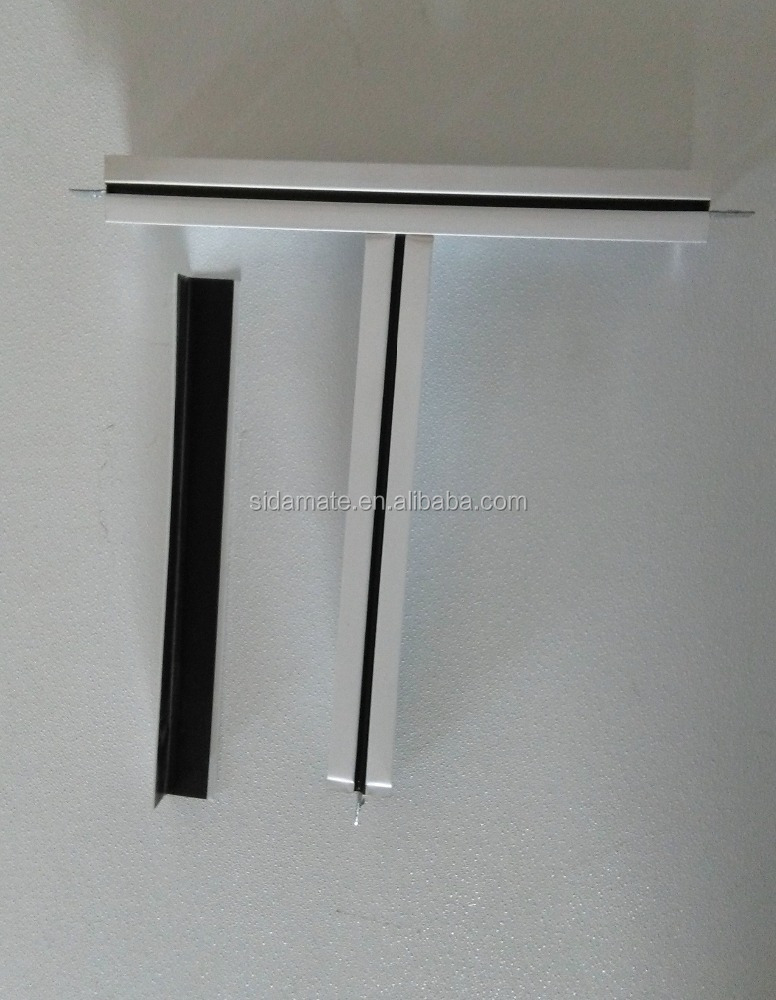 China hot sale ceiling t grid accessories and main runner cross tee interior decoration materials t bar