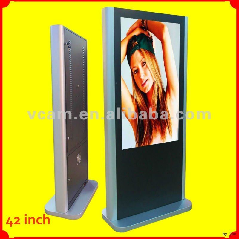 "42"" Indoor Touch Screen Wifi/3G Ad Lcd Gateway All In One"