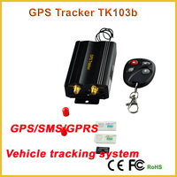 Auto Vehicle TK103B Car GPS Tracker Tracking Car Alarm GPS/GSM/GPRS Crawler Rastreador Trackers with Remote Control