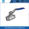 "Stainless Steel 3/8"" Ball Valve Female 2Pcs SS 304 Vinyl Handle NPT"