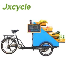 CE certificate tricycle food cart