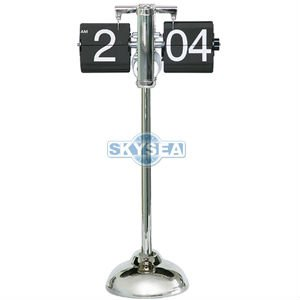 Telescopic flip clock