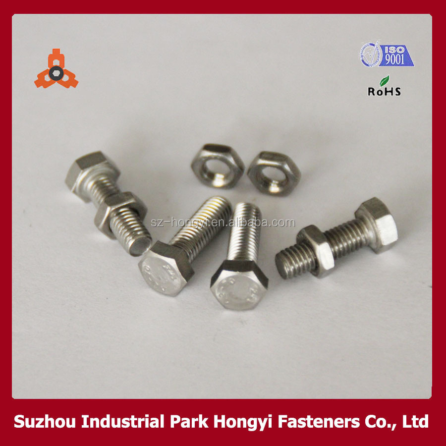 China Supplier Bulk Nuts And Bolts Type Of Allen Solid Head Stainless Steel