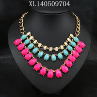 fashion necklace cheap fashion jewelry made in china NSNK-17603