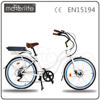 MOTORLIFE/OEM 1000W electric chopper beach cruiser bicycle for adult