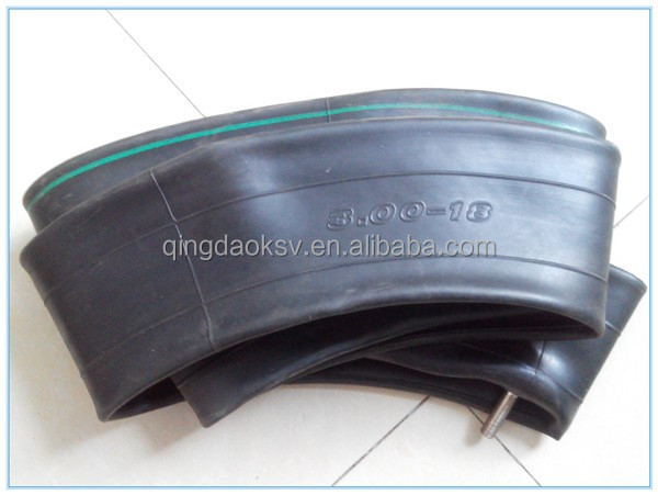 qingdao manufacturer cheap good quality motorcycle 3.00-18 inner tube
