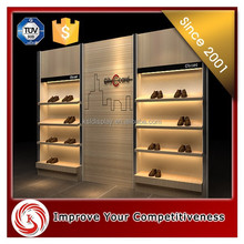 Top quality glorious store equipment laminated shoe retail store design