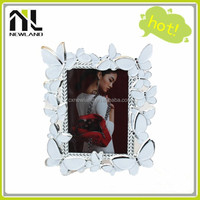 Butterfly decor hot sell photo picture frame