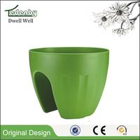 New design stackable plastic garden pots with high quality