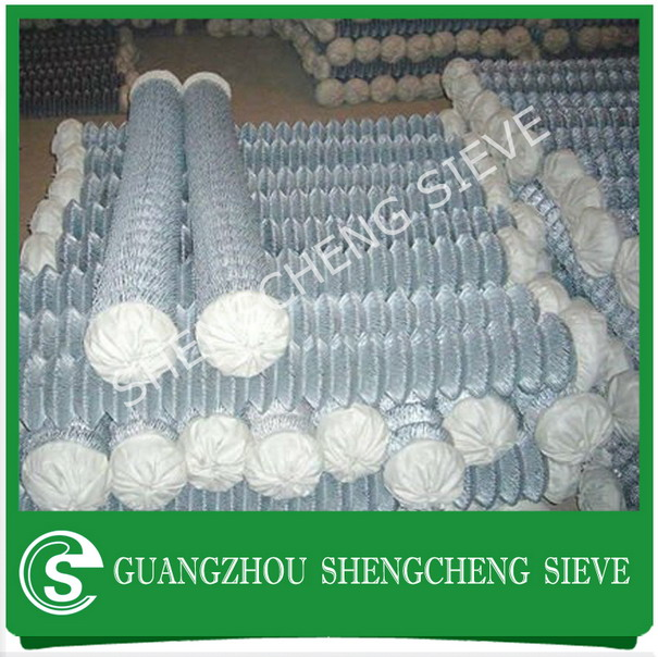 Hot galvanized/electro galvanized/pvc chain link fencing price