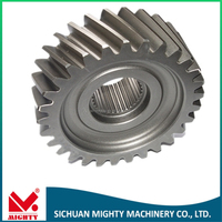 Operational Gearing Precision Forging Bevel Gear 1M 2M 3M 4M