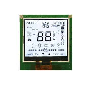 Customized segment COG LCD module with on-cell touch